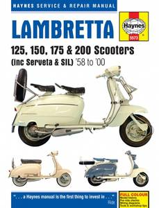 Bilde av Lambretta 125, 150, 175 & 200