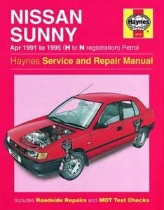 Bilde av Nissan Sunny Petrol (Apr 91 -