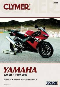 Bilde av Clymer Manuals Yamaha YZF-R6