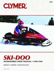 Bilde av Ski-Doo Snowmobile, 1990-1995