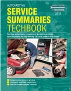 Bilde av Automotive Service Summaries