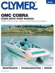 Bilde av Clymer Manuals OMC Cobra Stern