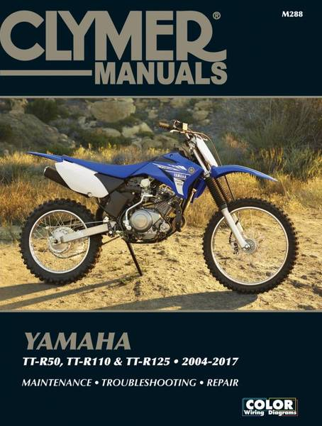 Yamaha TT-R50, TT-R110 & TT-R125 (2004 - 2017)