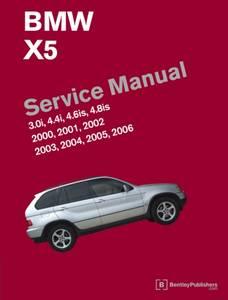 Bilde av BMW X5 Service Manual 2000-2006