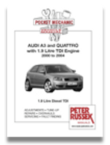 Bilde av Audi A3 and Quattro '00 - '04