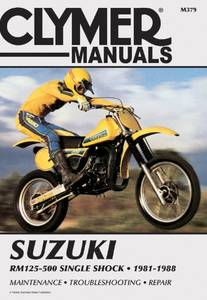 Bilde av Clymer Manuals Suzuki RM125-500