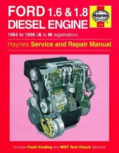 Bilde av Ford 1.6 and 1.8 litre Diesel