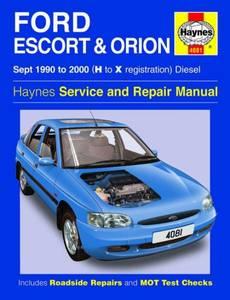 Bilde av Ford Escort & Orion Diesel (Sept
