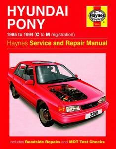 Bilde av Hyundai Pony (85 - 94) C to M