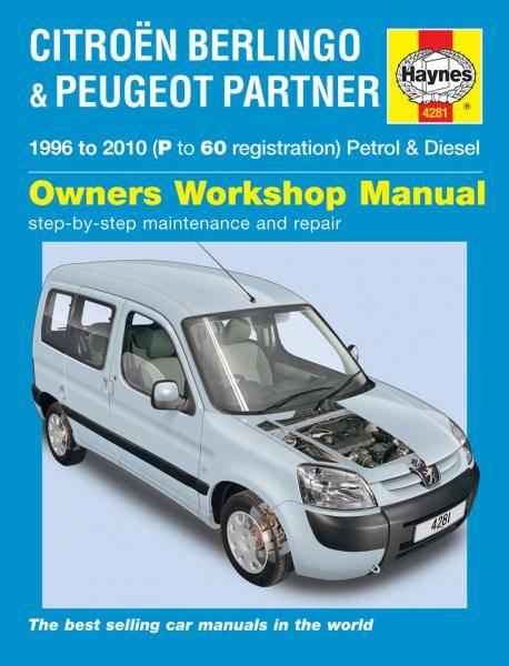 Citroen Berlingo & Peugeot Partner 1996 -2010
