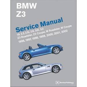 Bilde av BMW Z3 Roadster Service Manual