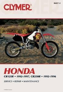 Bilde av Clymer Manuals Honda CR125R &