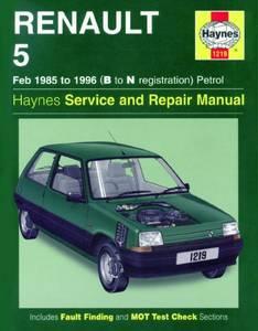 Bilde av Haynes, Renault 5 Petrol (85-96)