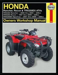 Bilde av Honda Rancher, Recon & TRX250EX