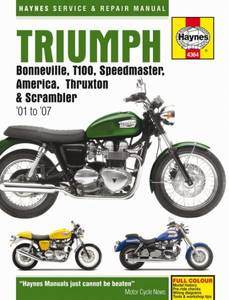 Bilde av Triumph Bonneville (01 - 07)