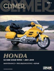 Bilde av Clymer Manuals Honda GL1800 Gold