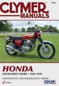 Bilde av Clymer Manuals Honda CB750 SOHC