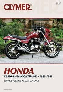 Bilde av Clymer Manuals Honda CB550 and