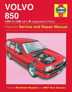 Bilde av Haynes Volvo 850 Petrol (92 -